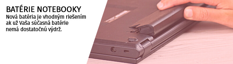 Notebooky - baterie